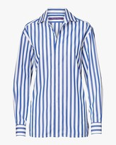 Ralph Lauren Capri Striped Cotton Shirt