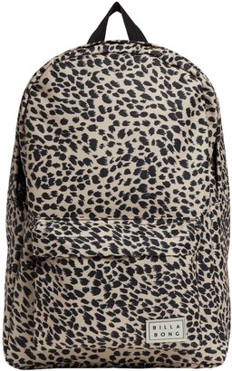 Billabong Next Time Leopard Print Utility Backpack
