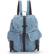 Herschel Women's Dawson Disney Backpack Denim/Black Poly