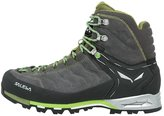 Salewa Mtn Trainer Mid Gtx Climbing Shoes Pewter/emerald