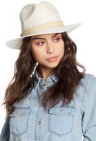 Vince Camuto Tweeded Panama Hat