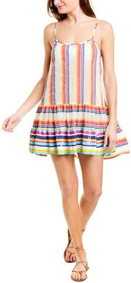Taj By Sabrina Crippa Sequin Hem Mini Dress