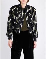By Malene Birger Banu knitted bomber jacket