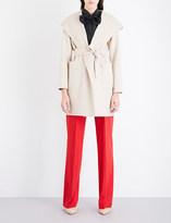 Max Mara Fata hooded cashmere coat
