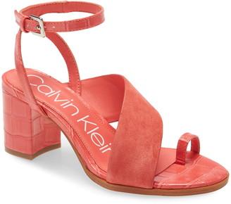 Calvin Klein Coleen Ankle Strap Sandal