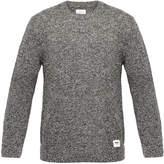 Wood Wood Clifford Black Melange Sweater