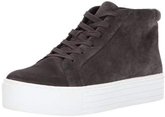 Kenneth Cole New York Women's Janette High Top Lace Up Platform Sneaker Patent Fashion