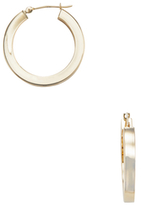 Candela 14K Yellow Gold Square Hoop Earrings