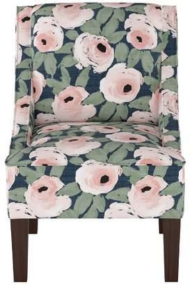 Threshold Hudson Swoop Chair Bloomsbury Rose