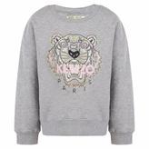 Kenzo Grey Logo Sweater