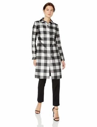 Anne Klein Women's Button Front Topper Coat