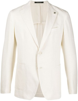 Tagliatore Knitted Style Blazer