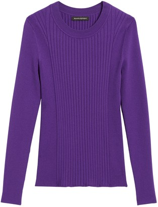 Banana Republic Ribbed Sweater Top