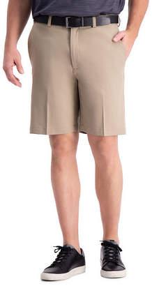 Haggar Cool 18 Pro Classic Fit Flat Front Short