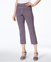Charter Club Iconic-Print Capri Pants, Only at Macy's