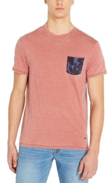 Buffalo David Bitton Men's Kilands Burnout Pocket T-Shirt
