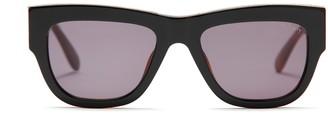 Mulberry Jon Sunglasses Black and Havana Acetate