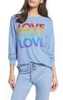 Junk Food Clothing Women's Love Sweatshirt