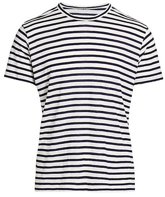 7 For All Mankind Breton Striped T-Shirt