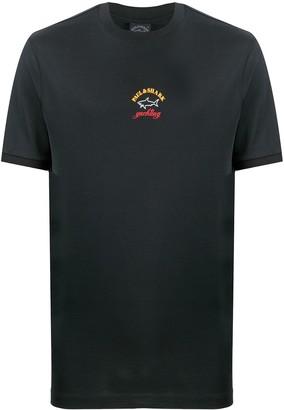 Paul & Shark short sleeve printed logo T-shirt
