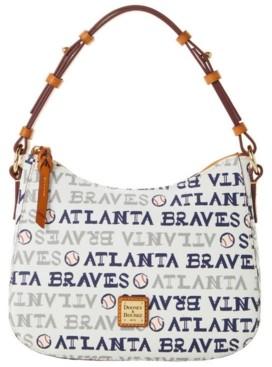 Dooney & Bourke Atlanta Braves Small Kiley Hobo Bag