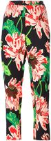 Stella McCartney floral trousers - women - Spandex/Elastane/Viscose - 38