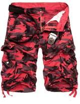 DOOXIUNDIMen's Camouflage Cargo Shorts