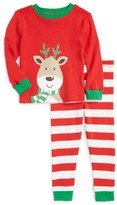 Little Me Infant Boy's Reindeer Fitted Two-Piece Pajamas