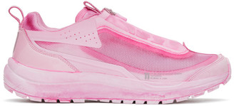 11 By Boris Bidjan Saberi Pink Salomon Edition Bamba 2 Low-Top Sneakers
