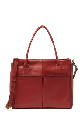 Frye Mindy Leather Pocket Satchel