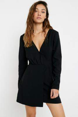 Finders Keepers Victoria Mini Dress - black S at Urban Outfitters