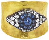 Arman Blue Sapphire Evil Eye Ring