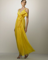 Oversized-Bow Gown