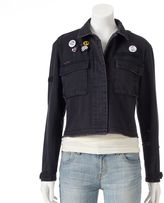"Juniors' Cloud Chaser ""Bad Choices"" Jean Jacket"