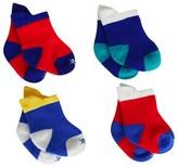 Hackett 4 Pack Baby Socks in Box