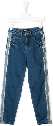 Molo Kids Allis straight-leg jeans