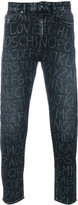 Love Moschino Print Slim-fit Jeans