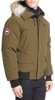 Canada Goose 'Chilliwack' Down Bomber Jacket with Genuine Coyote Trim