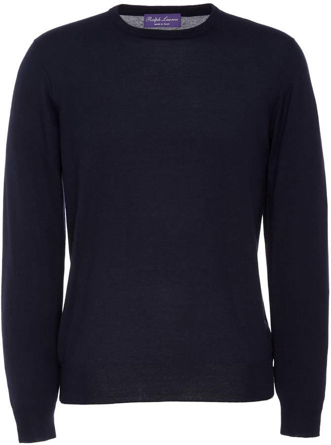 Ralph Lauren Cashmere and Silk-Blend Crewneck Sweater