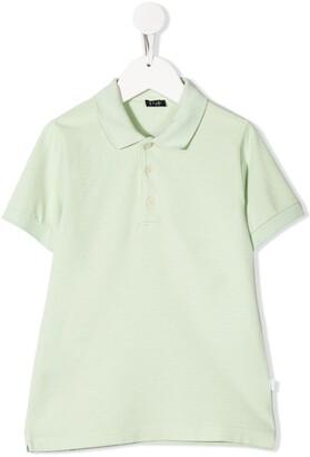 Il Gufo Plain Short-Sleeved Polo Shirt