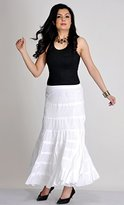 She's Cool Junior's Eight-Tier Crinkle Voile Skirt