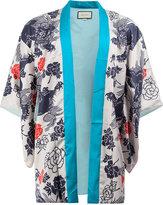 Gucci Japanese print kimono jacket - men - Silk/Viscose - 44