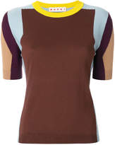 Marni colour blocked sweater