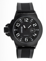 Breed Black Alpha-Two Swiss Watch