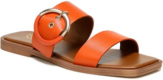 Franco Sarto Leather Slip-On Sandals - Maiva