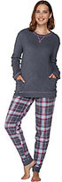 Cuddl Duds As Is Stretch Fleece Novelty Pajama Set
