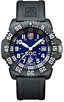 Luminox LSOC Spec Ops Challenge Set Men's Quartz watch with Blue dial featuring LLT light Technology 44 millimeters Carbon Compound case and Black PU Strap XS.3053.SOC.SET