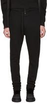 Ann Demeulemeester Black Buttoned Lounge Pants