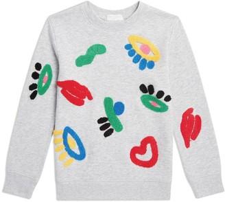 Stella McCartney Cotton Applique Sweatshirt