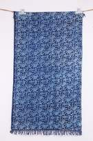 Jaipur Textile Hub New with tag Hand Woven Gray Dabu Dyed 3x5 Traditonal Cotton Beautiful Rug